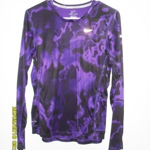 Women's Nike Dry Fit Running Top Size Small